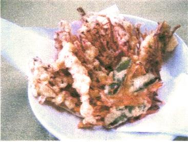 おすすめ 干えのき天ぷら